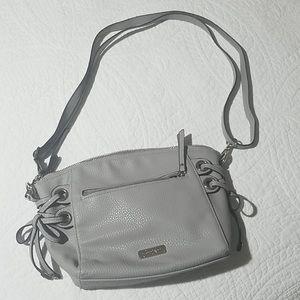 Jessica Simpson Gray crossbody purse